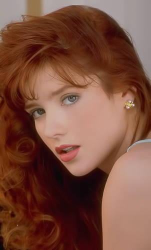 Julia Hayes gets naked and naughty in her office